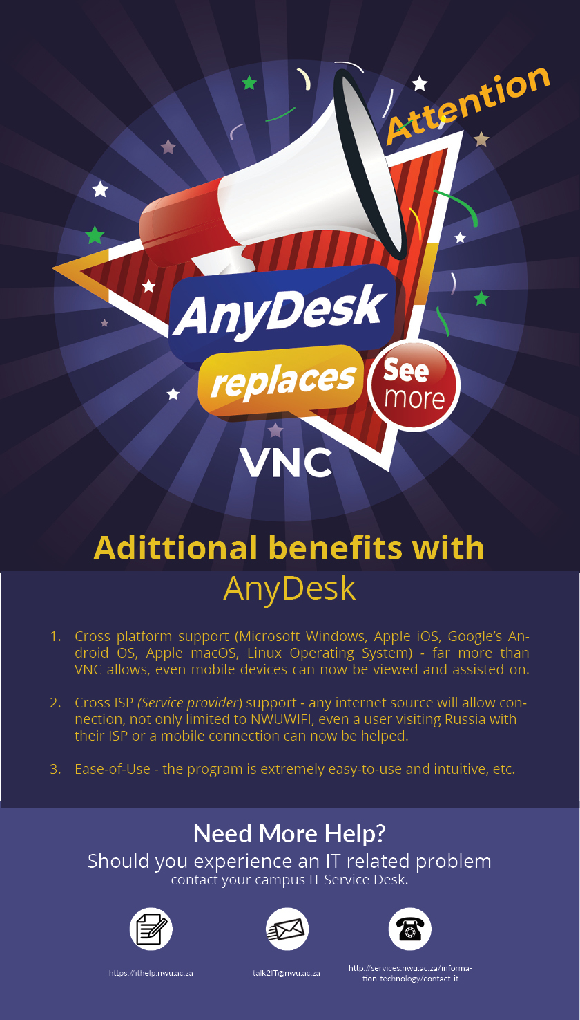New Remote Software AnyDesk | IT News | Services | NWU