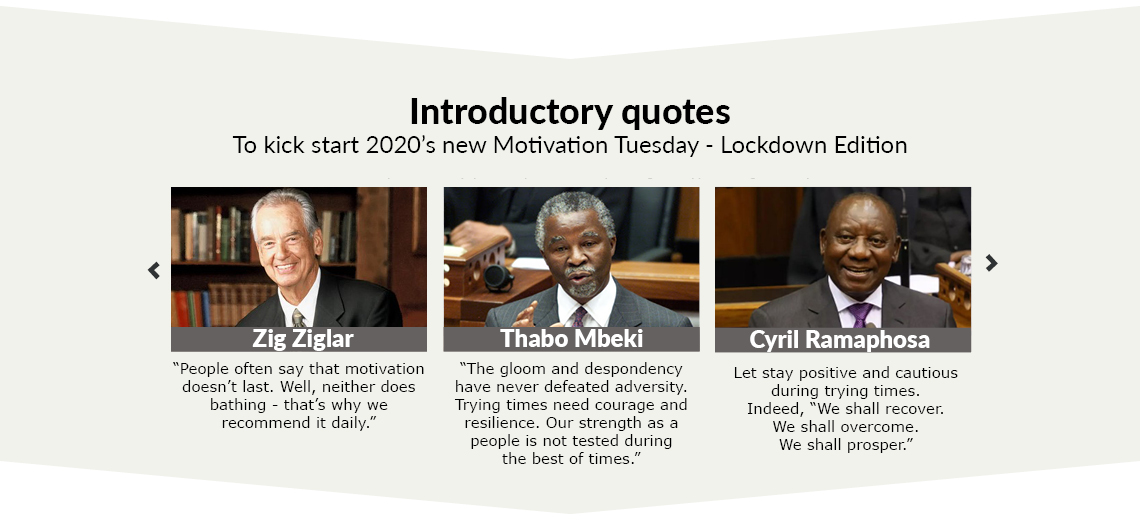 Prominent quotes